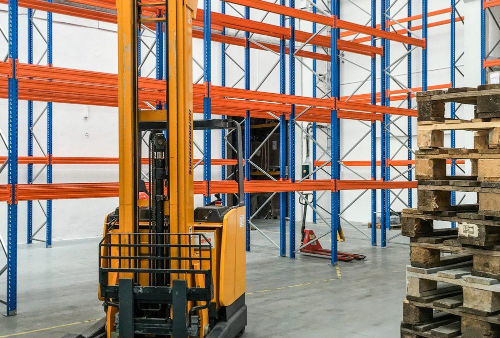 Rozšíření skladové kapacity